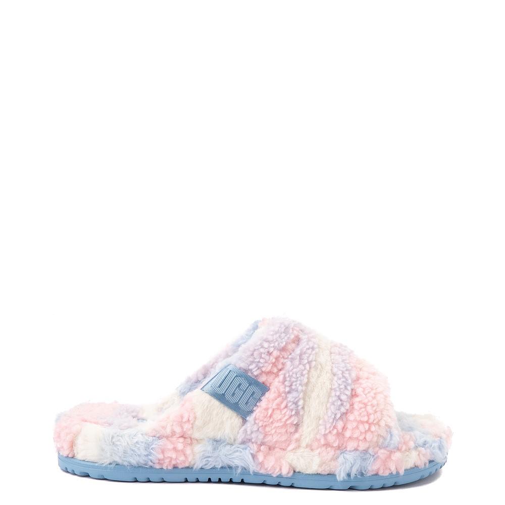 UGG® Fluff You Pride Slide Sandal - Pastel Multicolor