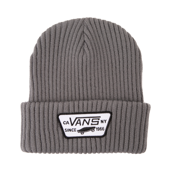 Main view of Vans Full Patch Beanie - Pewter