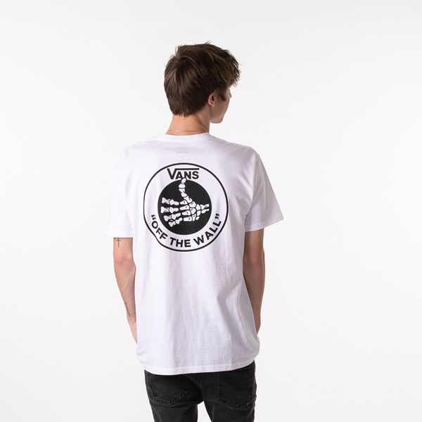 Main view of Mens Vans Thumbs Up Tee - White