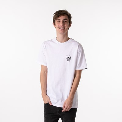 Alternate view of Mens Vans Thumbs Up Tee - White