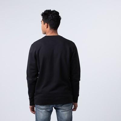 Alternate view of Mens Vans Classic Drop V Crew Sweatshirt - Black