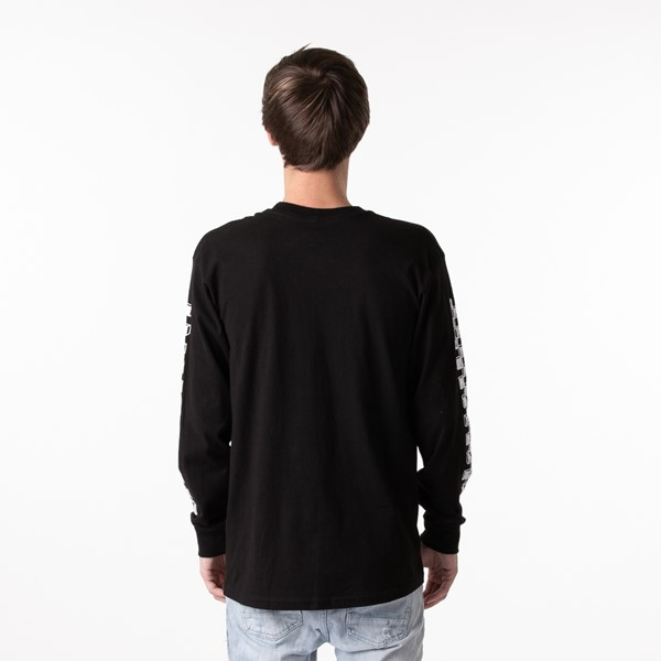 alternate view Mens Vans Sketch Patch Long Sleeve Tee - BlackALT1
