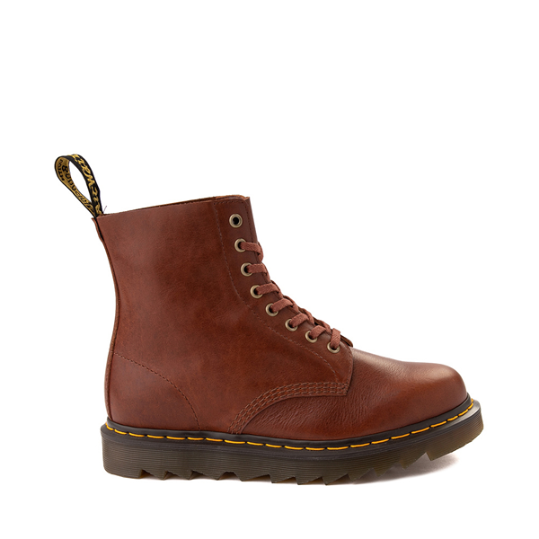 Main view of Dr. Martens 1460 8-Eye Ziggy Boot - Tan