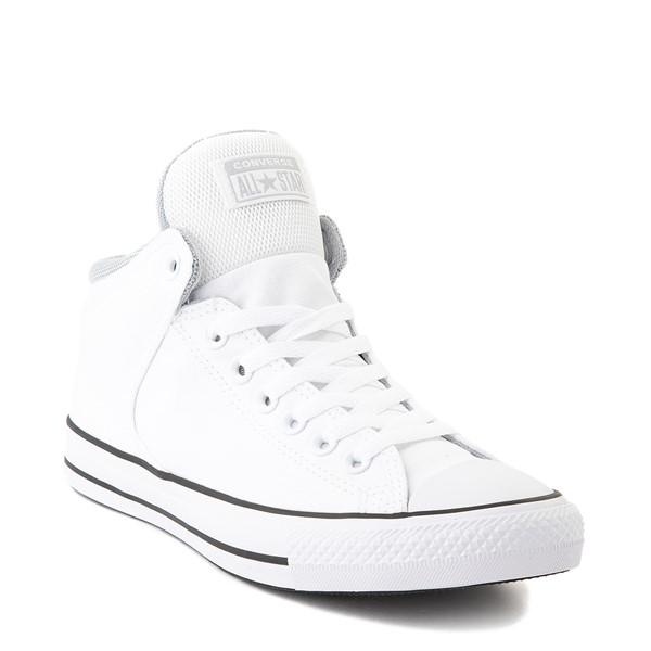 alternate view Converse Chuck Taylor All Star High Street Sneaker - White / GrayALT1