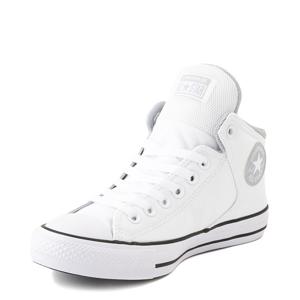 alternate view Converse Chuck Taylor All Star High Street Sneaker - White / GrayALT3