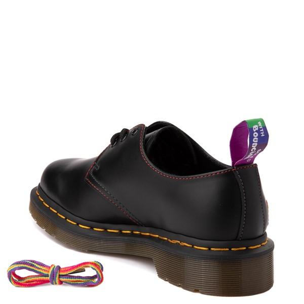 alternate view Dr. Martens 1461 For Pride Casual Shoe - BlackALT1