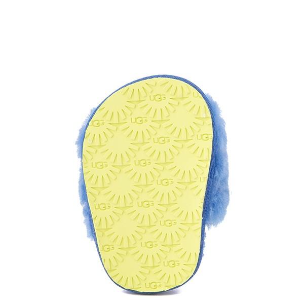alternate view UGG® Fluff Yeah Slide Sandal - Baby / Toddler - Mystic BlueALT3