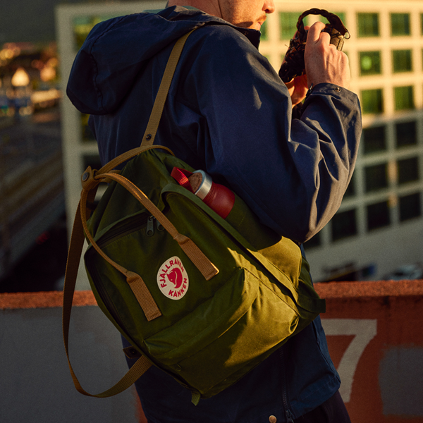 alternate view Fjallraven Kanken Backpack - Spruce / ClayALT1BADULT2