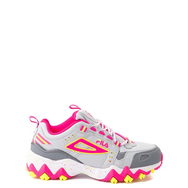 Fila Oakmont TR Athletic Shoe - Big Kid - Gray / Pink