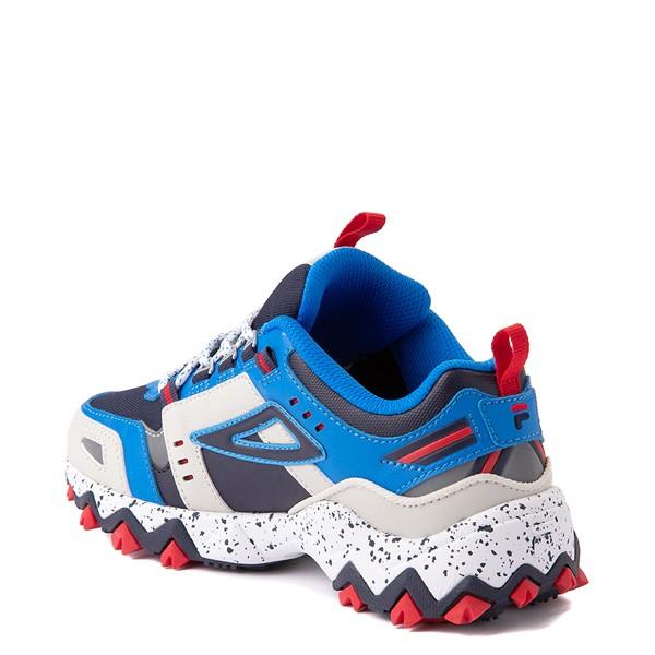 alternate view Fila Oakmont TR Athletic Shoe - Big Kid - Silver Birch / Black / Electric BlueALT1B