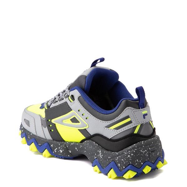 alternate view Fila Oakmont TR Athletic Shoe - Big Kid - Safety Yellow / Dark Shadow / Mazarine BlueALT1B
