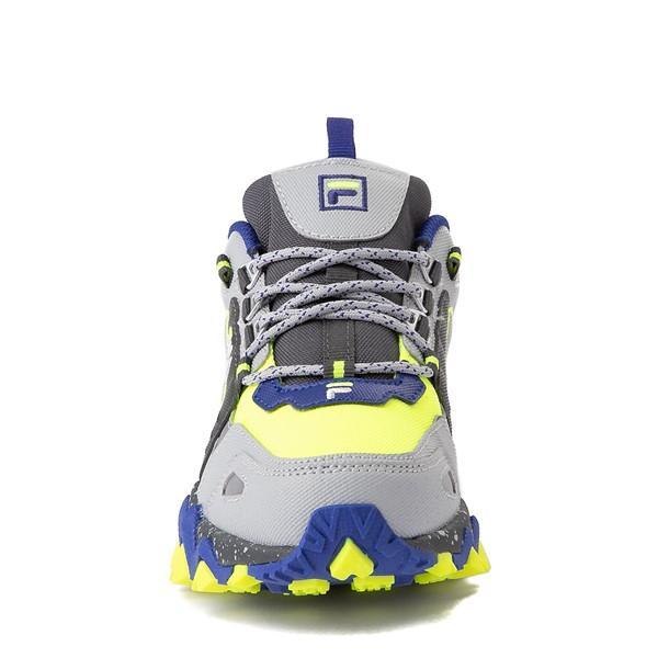 alternate view Fila Oakmont TR Athletic Shoe - Big Kid - Safety Yellow / Dark Shadow / Mazarine BlueALT4
