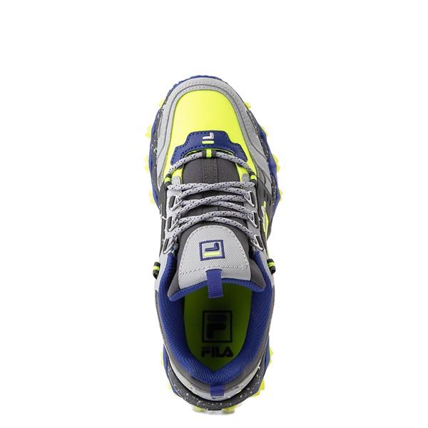 alternate view Fila Oakmont TR Athletic Shoe - Big Kid - Safety Yellow / Dark Shadow / Mazarine BlueALT4B
