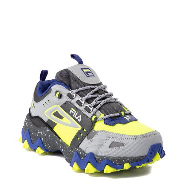 alternate view Fila Oakmont TR Athletic Shoe - Big Kid - Safety Yellow / Dark Shadow / Mazarine BlueALT5