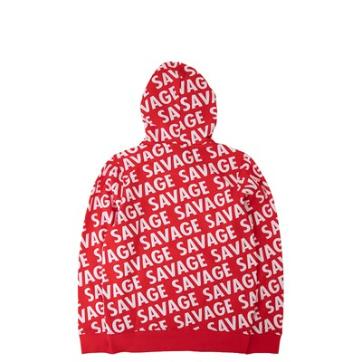 Alternate view of Savage Hoodie - Little Kid / Big Kid - Red