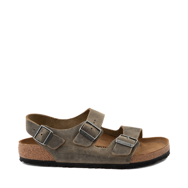 Main view of Mens Birkenstock Milano Sandal - Faded Khaki