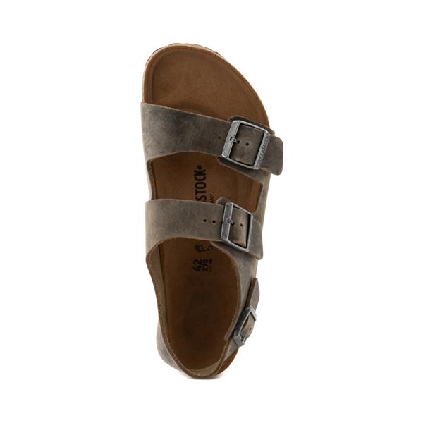 alternate view Mens Birkenstock Milano Sandal - Faded KhakiALT2