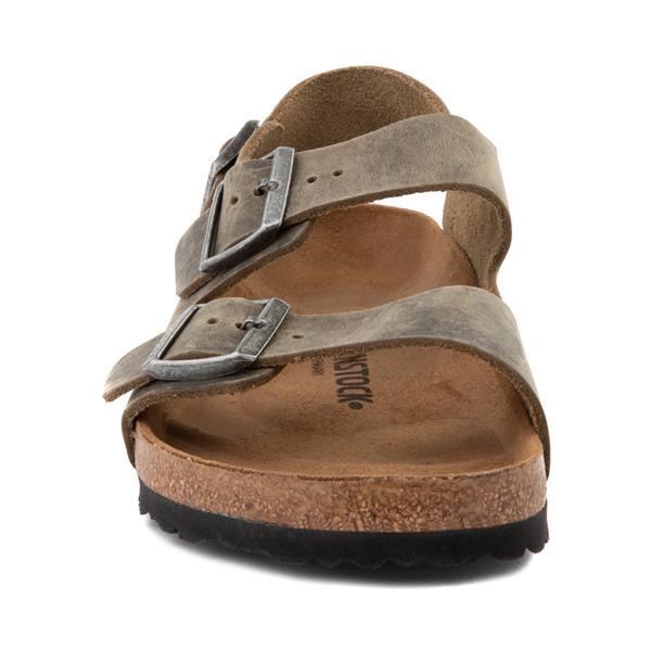 alternate view Mens Birkenstock Milano Sandal - Faded KhakiALT4