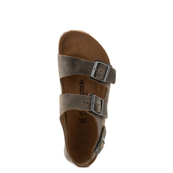 alternate view Mens Birkenstock Milano Sandal - Faded KhakiALT4B