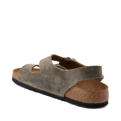 Alternate view of Mens Birkenstock Milano Sandal - Faded Khaki