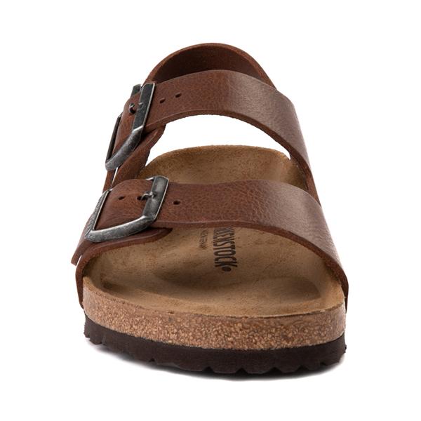 alternate view Mens Birkenstock Milano Sandal - Vintage Wood RoastALT4