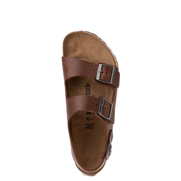 alternate view Mens Birkenstock Milano Sandal - Vintage Wood RoastALT4B