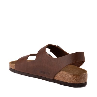 Alternate view of Mens Birkenstock Milano Sandal - Vintage Wood Roast