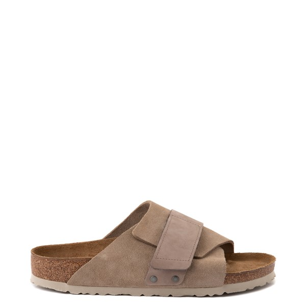 Main view of Mens Birkenstock Kyoto Slide Sandal - Taupe