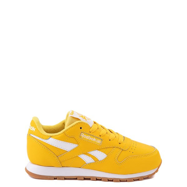Main view of Reebok Classic Athletic Shoe - Little Kid - Toxic Yellow