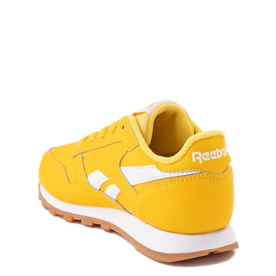 Alternate view of Reebok Classic Athletic Shoe - Little Kid - Toxic Yellow