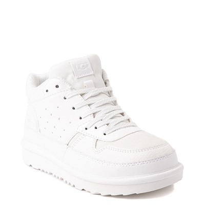 Alternate view of UGG® Highland Sneaker - Little Kid / Big Kid - White