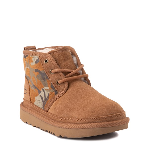 alternate view UGG® Neumel II Boot - Little Kid / Big Kid - Brown / CamoALT1