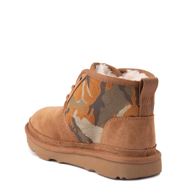 alternate view UGG® Neumel II Boot - Little Kid / Big Kid - Brown / CamoALT2