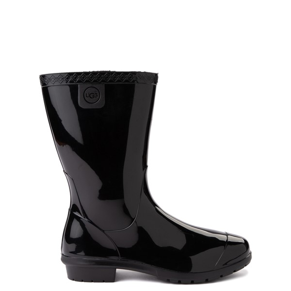 Main view of UGG® Raana Rain Boot - Little Kid / Big Kid - Black