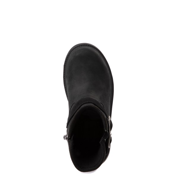 alternate view UGG® Kinzey Weather Boot - Little Kid / Big Kid - BlackALT4B
