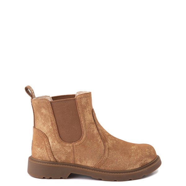 Main view of UGG® Bolden Metallic Chelsea Boot - Little Kid / Big Kid - Gold