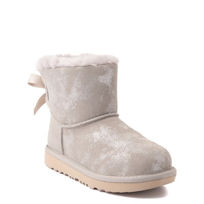 Alternate view of UGG® Mini Bailey Bow II Shimmer Boot - Little Kid / Big Kid - Goat