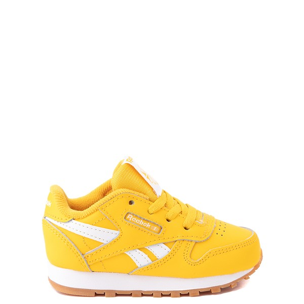 Main view of Reebok Classic Athletic Shoe - Baby / Toddler - Toxic Yellow