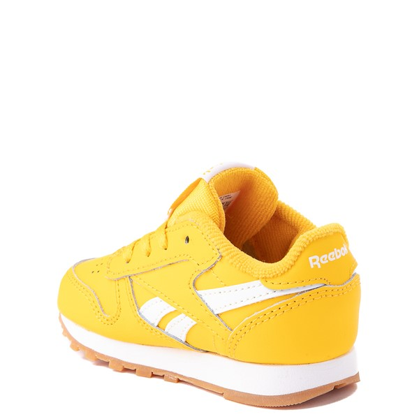 alternate view Reebok Classic Athletic Shoe - Baby / Toddler - Toxic YellowALT2