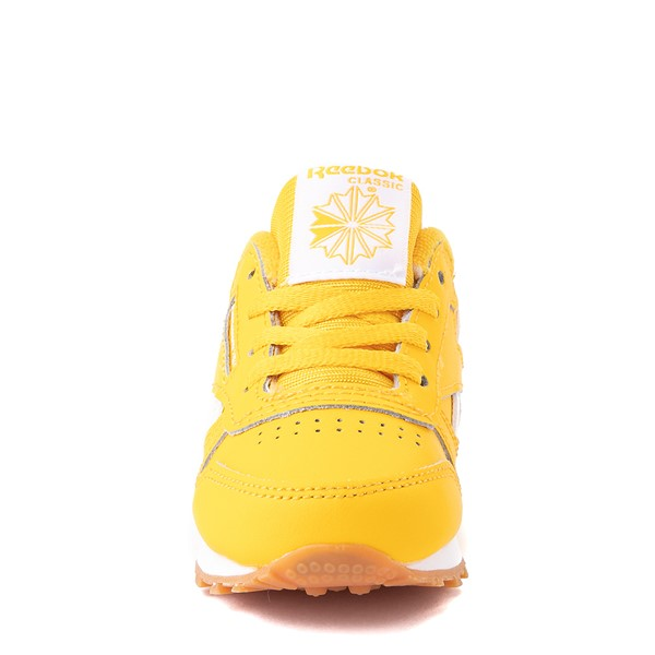 alternate view Reebok Classic Athletic Shoe - Baby / Toddler - Toxic YellowALT4