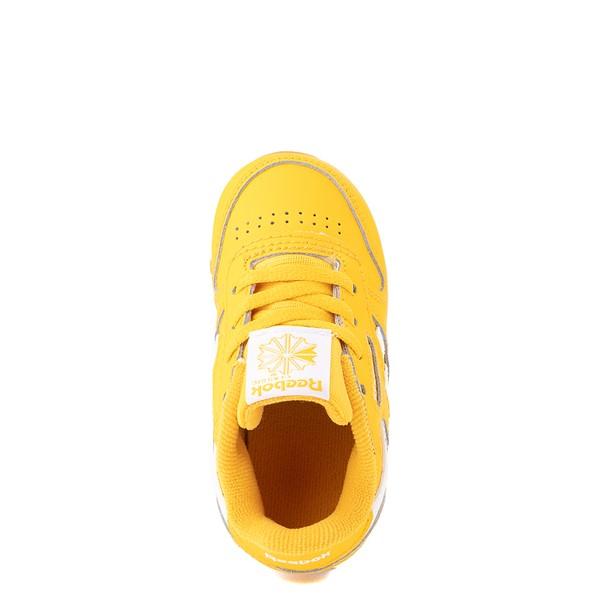alternate view Reebok Classic Athletic Shoe - Baby / Toddler - Toxic YellowALT4B