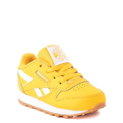 Alternate view of Reebok Classic Athletic Shoe - Baby / Toddler - Toxic Yellow