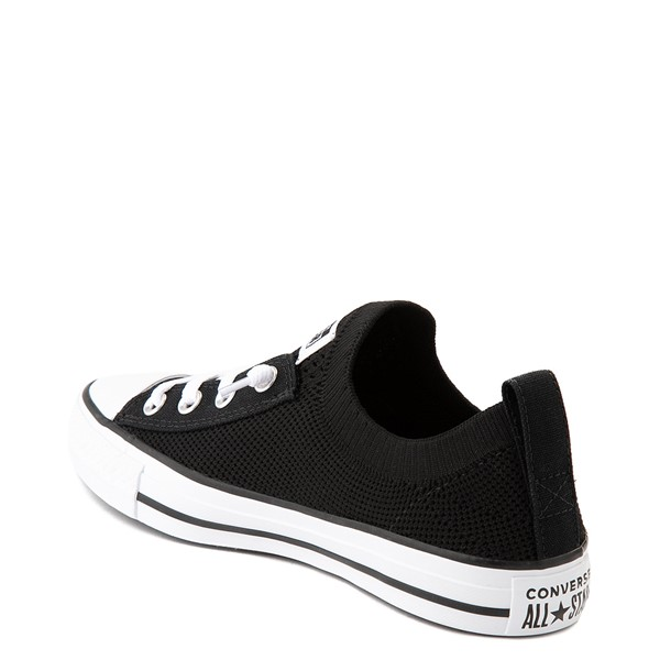 alternate view Womens Converse Chuck Taylor All Star Shoreline Knit Sneaker - BlackALT1