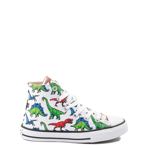 Converse Chuck Taylor All Star Hi Dinos Sneaker - Little Kid / Big Kid - White