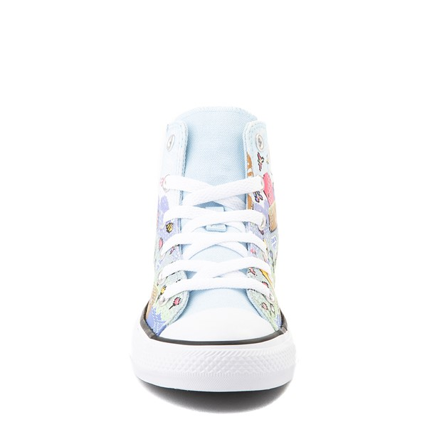 alternate view Converse Chuck Taylor All Star Hi Gamer Sneaker - Little Kid / Big Kid - Chambray BlueALT4