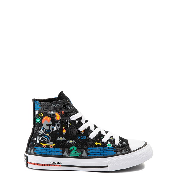Main view of Converse Chuck Taylor All Star Hi Gamer Sneaker - Little Kid / Big Kid - Black