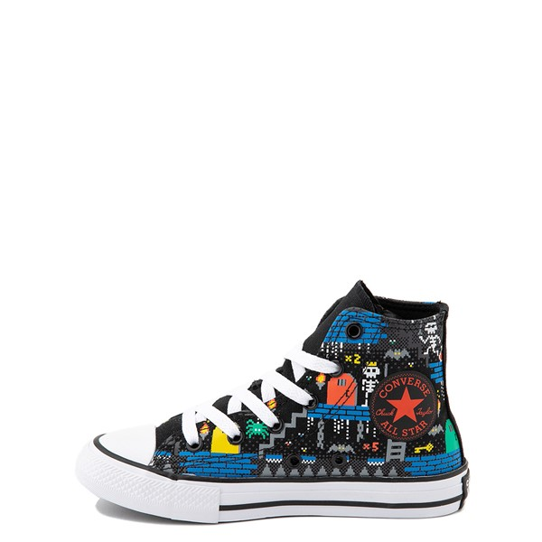 alternate view Converse Chuck Taylor All Star Hi Gamer Sneaker - Little Kid / Big Kid - BlackALT1