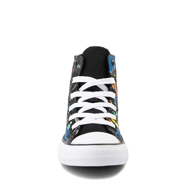 alternate view Converse Chuck Taylor All Star Hi Gamer Sneaker - Little Kid / Big Kid - BlackALT4