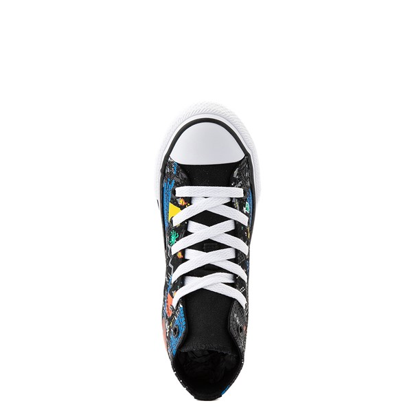 alternate view Converse Chuck Taylor All Star Hi Gamer Sneaker - Little Kid / Big Kid - BlackALT4B