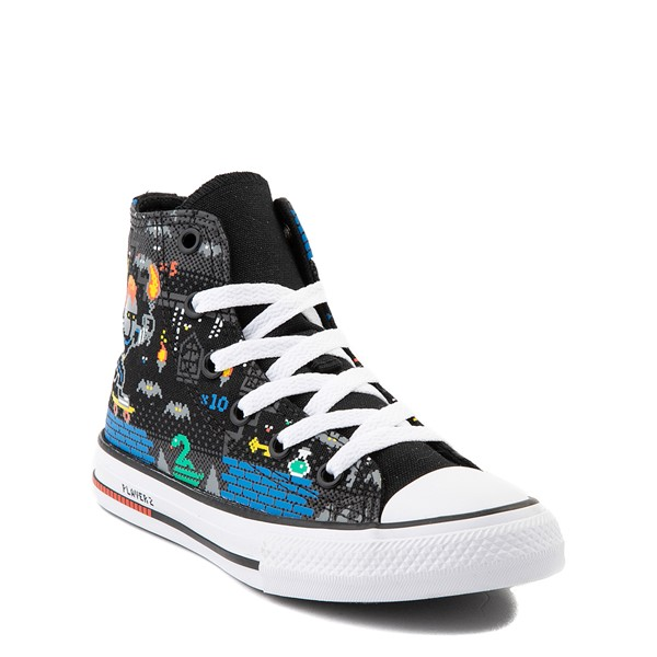 alternate view Converse Chuck Taylor All Star Hi Gamer Sneaker - Little Kid / Big Kid - BlackALT5